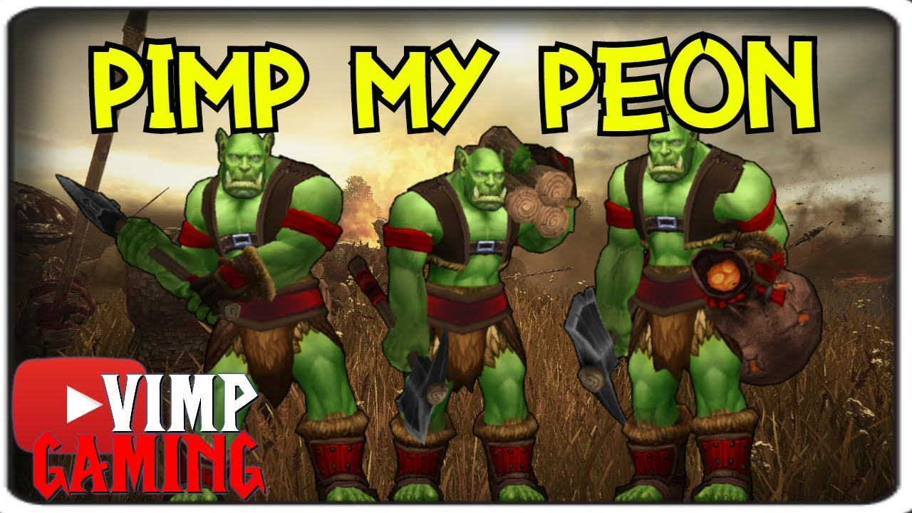 Warcraft 3 Reforged Pimp My Peon Youtube