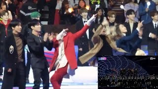 171201 Super Junior, Taemin, Day6, Bolbbalgan4, Heize Reaction To Exo - Power Ma