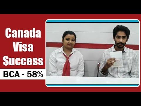 Canada Visa with BCA 58%
