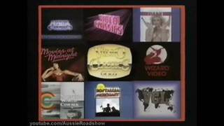 Video Classics Opening Logos [various], MEDA & Media Home Entertainment, Electric Blue & VCL Idents