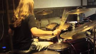 "Amon Amarth ""Deceiver of the Gods"" Drum Cover"