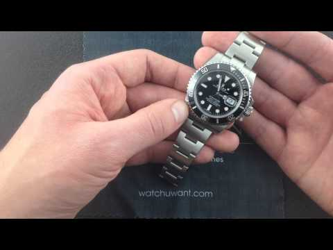 Rolex Oyster Perpetual Submariner 116610 Luxury Watch Review