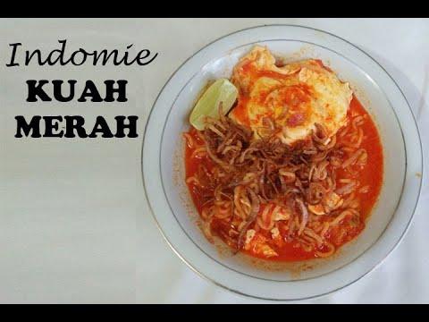 Indomie Kuah Merah 1 Youtube