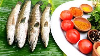 Cooking Snakehead FULL Fish Recipe | Delicious Murrel Fish curry | village food