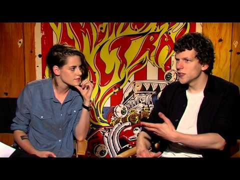 American Ultra: Kristen Stewart & Jesse Eisenberg Official Movie Interview