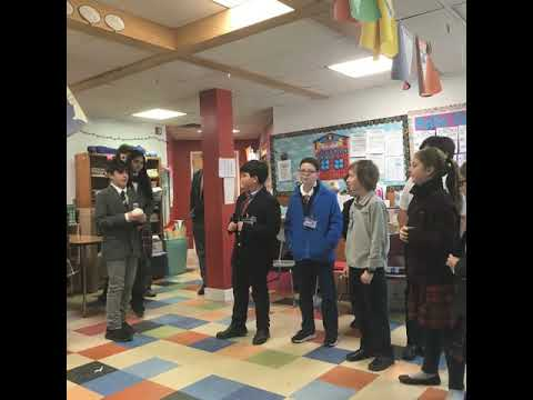 The Laurel Hill School Start With Hello Week!
