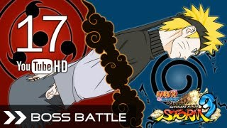Naruto Shippuden Ultimate Ninja Storm 3 - Naruto VS Sasuke (Boss Battle) Legend Mode English