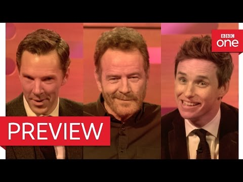 Bryan Cranston, Benedict Cumberbatch & Eddie Redmayne's dating video  The Graham Norton