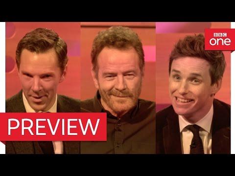 Bryan Cranston, Benedict Cumberbatch & Eddie Redmayne's dating video - The Graham Norton Show