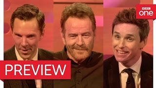Bryan Cranston, Benedict Cumberbatch & Eddie Redmayne's dating video - The Graham Norton Show