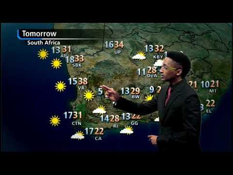 SA #Weather forecast | 26 November 2017