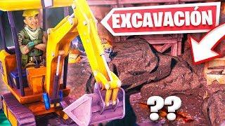 Empieza la excavación de VERDAD...
