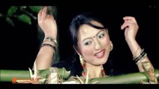 Mhendo Rang - New Tamang Movie Item Song Ganba Ft  Rosani Blon, Amir Dong
