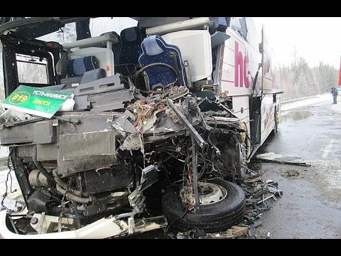 Автобус «Братск-Усть-Илимск» столкнулся с лесовозом 3.02.2017.Как это было...