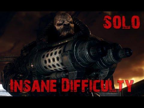 Gears Of War UE: RAAM Boss Fight Insane Difficulty (Solo) + Ending