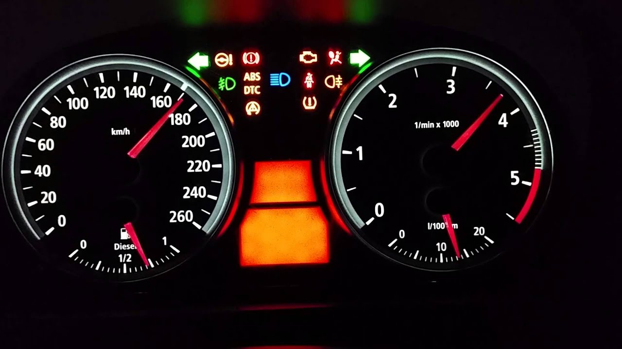 Bmw E90 High Cluster Youtube