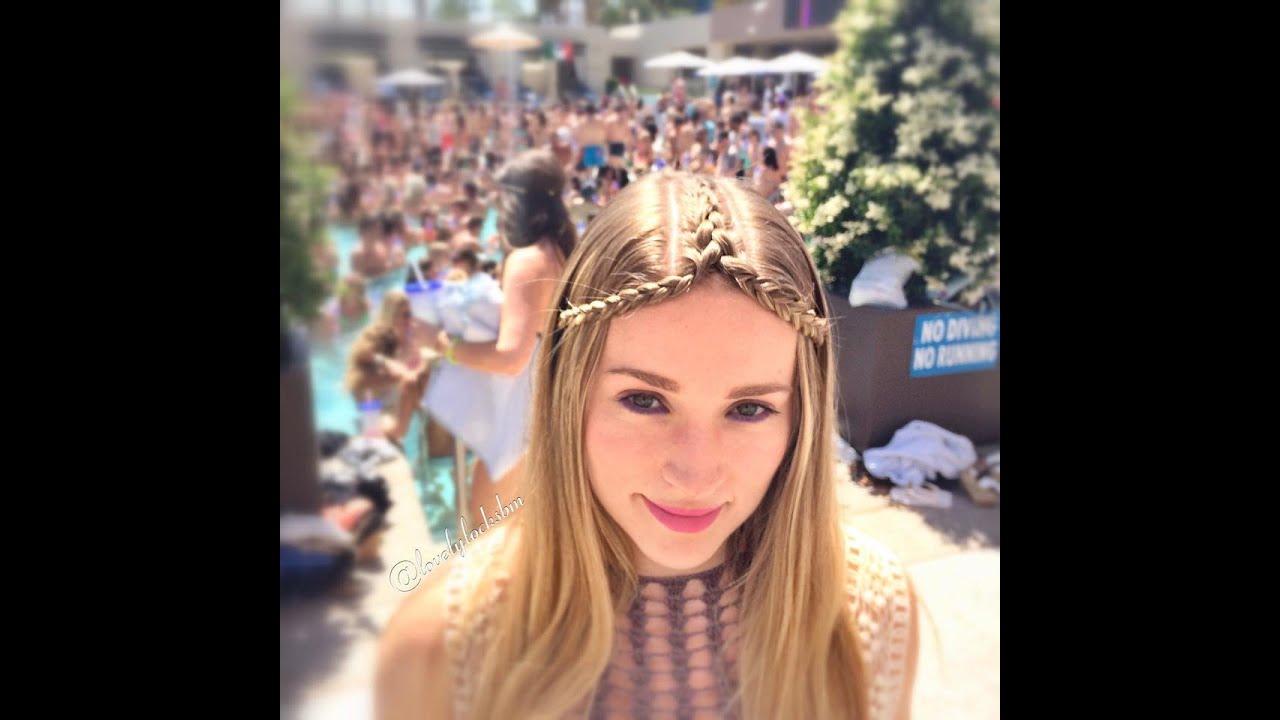 hippie braided headband - youtube