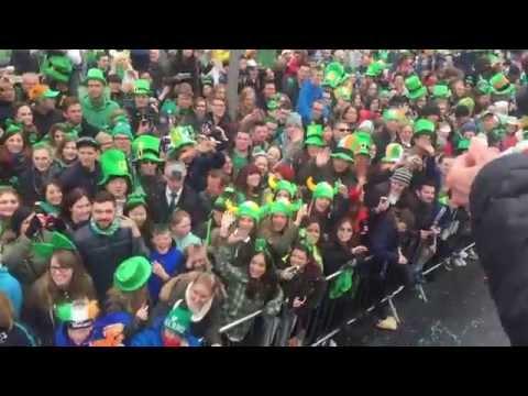 Manify @ St. Patrick's Day Parade - International Media Bus, Dublin