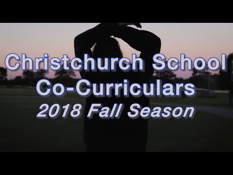 Christchurch School Fall Co-curricular Season 2018