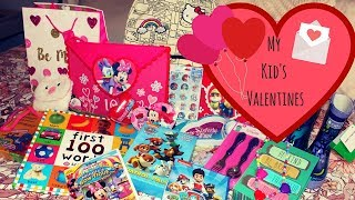 WHAT I GOT MY KIDS FOR VALENTINES DAY 2018