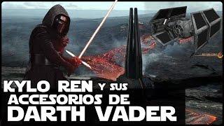 Star Wars Kylo Ren y Los Accesorios De Darth Vader