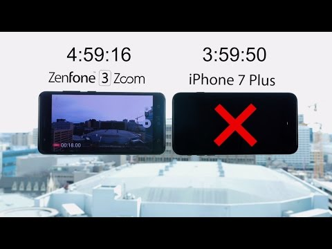 ZenFone 3 Zoom vs. iPhone 7 Plus: Battery Marathon | ASUS