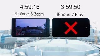 ZenFone 3 Zoom vs. iPhone 7 Plus: Battery Marathon   ASUS