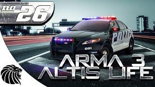ArmA 3 Altis Life - PERSEGUIÇÃO INSANA - Temporada 4 / #26