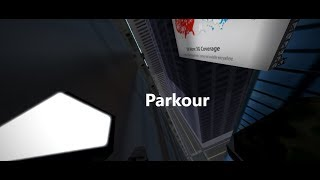 Climbing vertex with no gear!! Roblox Parkour