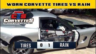 Worn Corvette Tires vs Rain