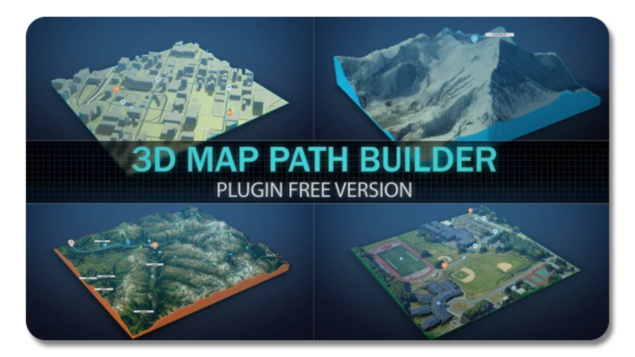 3d map path builder 20788566 after effects template youtube 3d map path builder 20788566 after effects template gumiabroncs Images