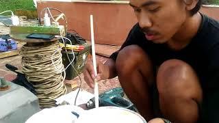 TORITORIAL PEMBUATAN TOPENG BADUT(FINISING)