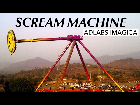 Adlabs Imagica| Scream Machine