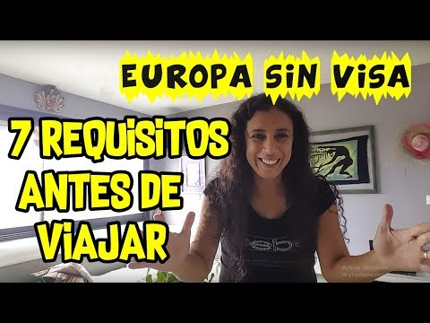 EUROPA SIN  VISA | 7 REQUISITOS ANTES DE VIAJAR EUROPA | PERUANA EN PARIS FRANCIA