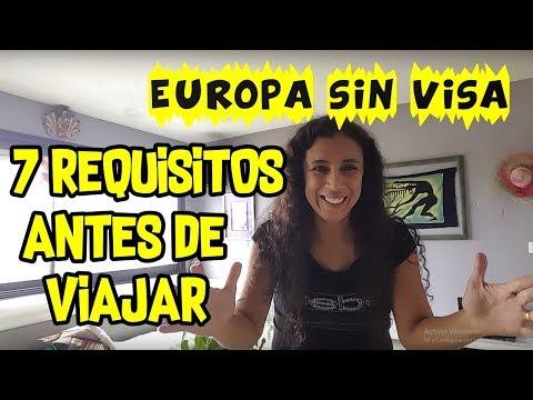 EUROPA SINVISA | 7 REQUISITOS ANTES DE VIAJAR EUROPA | PERUANA EN PARIS FRANCIA