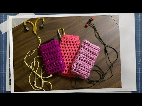 Free Layered Crochet Cell Phone Case Tutorial!