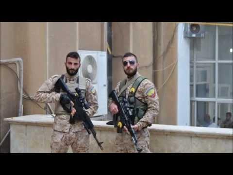 Assyrian Syriac-Aramaic Christians fight the Islamic State terrorist organization in N.E Syria.