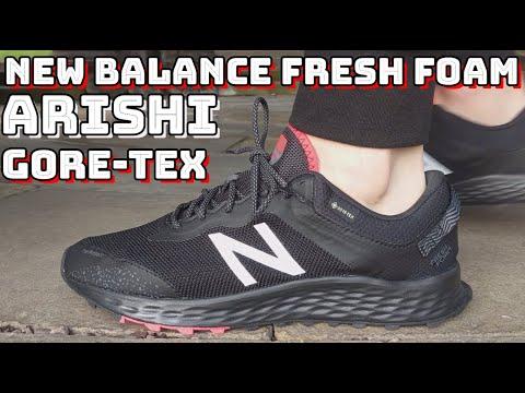 NEW BALANCE FRESH FOAM ARISHI GTX