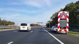 Dashcam Beelden Utrecht: A28»A27 Knooppunt Rijnsweerd ----»Knooppunt Eemnes.