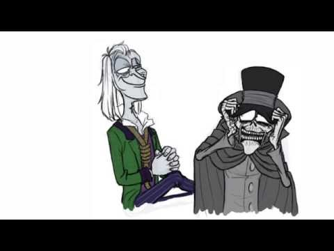 Haunted Mansion Cartoon The Hatbox Ghost In Interruption Youtube