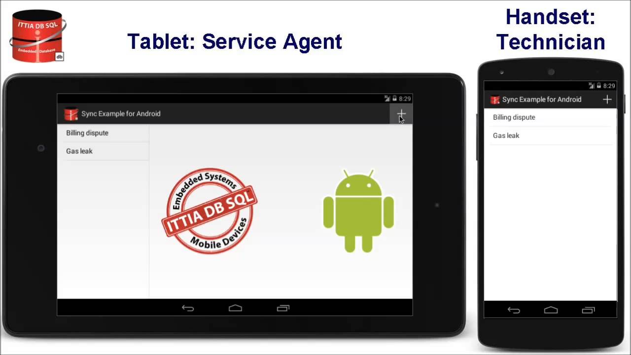 Connect Android with SQL Server, MySQL, Oracle, PostgreSQL, and Other RDBMS  Servers