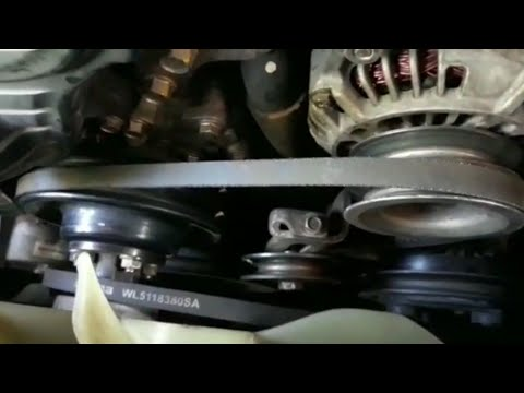 How To Remove Alternator Drive Belts For Mazda BT 50/ Mazda AC Belt Replacement
