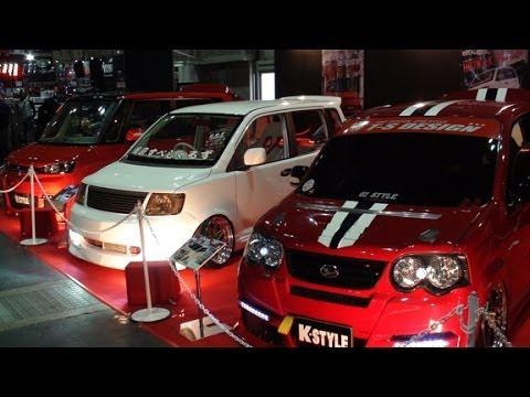(HD)Osaka Auto Messe 2014-K-STYLE Booth(大阪オートメッセ2014)