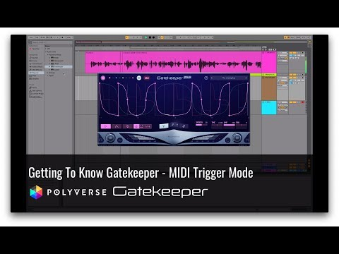 Gatekeeper Tutorial: Trigger Envelopes with MIDI