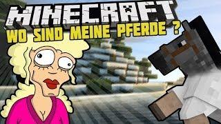 MÄDCHEN RASTET WEGEN PFERDEN AUS !?! - Minecraft Server Griefing - arazhulhd