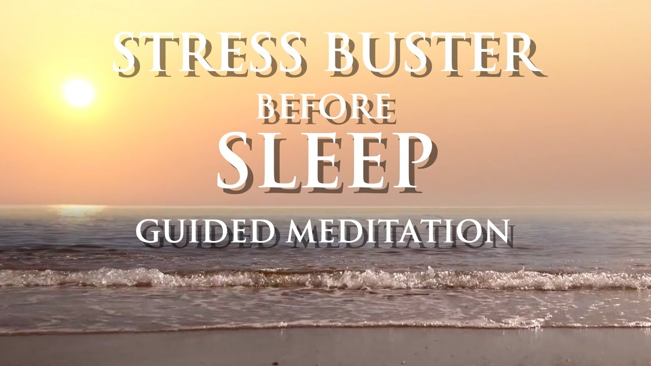 Guided meditation for overthinking and sleep - Stress ...