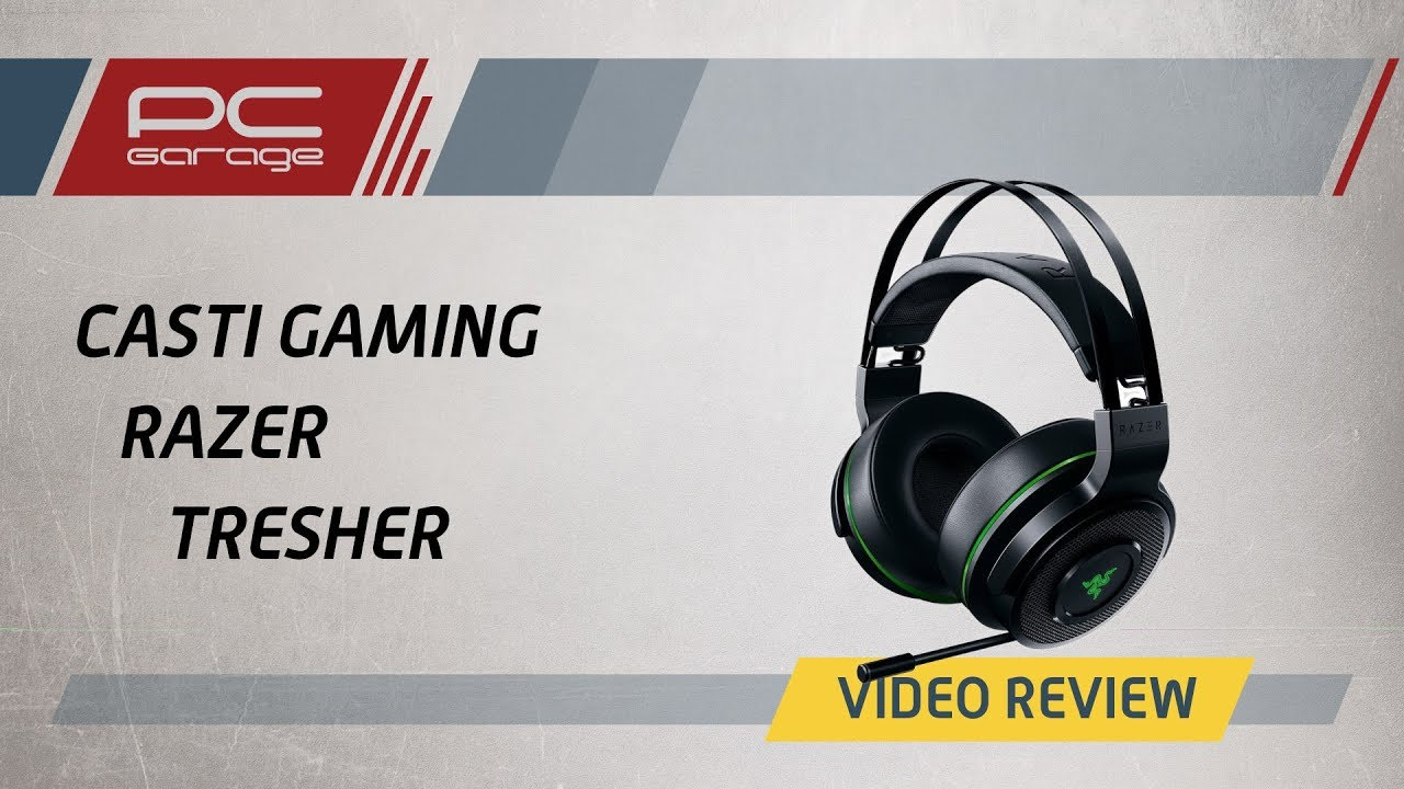 Video Review Casti Gaming Razer Tresher Xbox