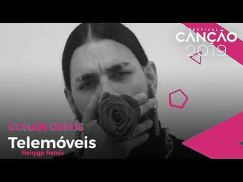 Conan Osiris - Telemóveis  Festival da Canção 2019 Renygp Remix