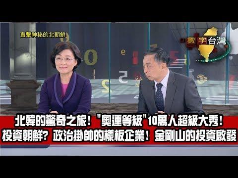 數字台灣HD234直擊神秘的北朝鮮 謝金河 王清峰 張達文