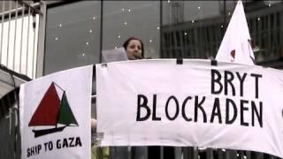 Ship to Gaza Anna Wester (Palestinagrupperna i Sverige) 21.10